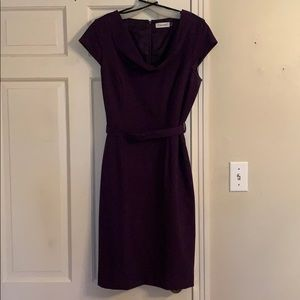 Calvin Klein Belted Dress